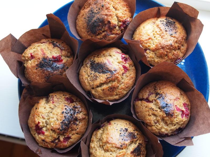 Muffins med ribs og lakrids